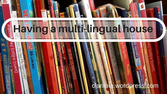Having a multi-lingual house