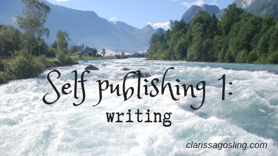 Self publishing 1: writing