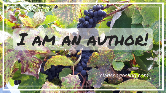 I am an author!