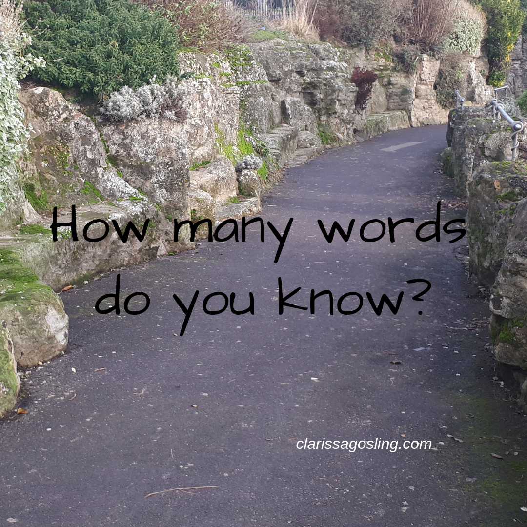 How many words do you know?