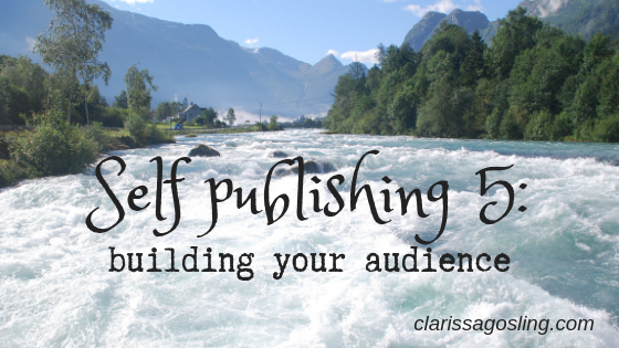 Self publishing 5 – building your audience