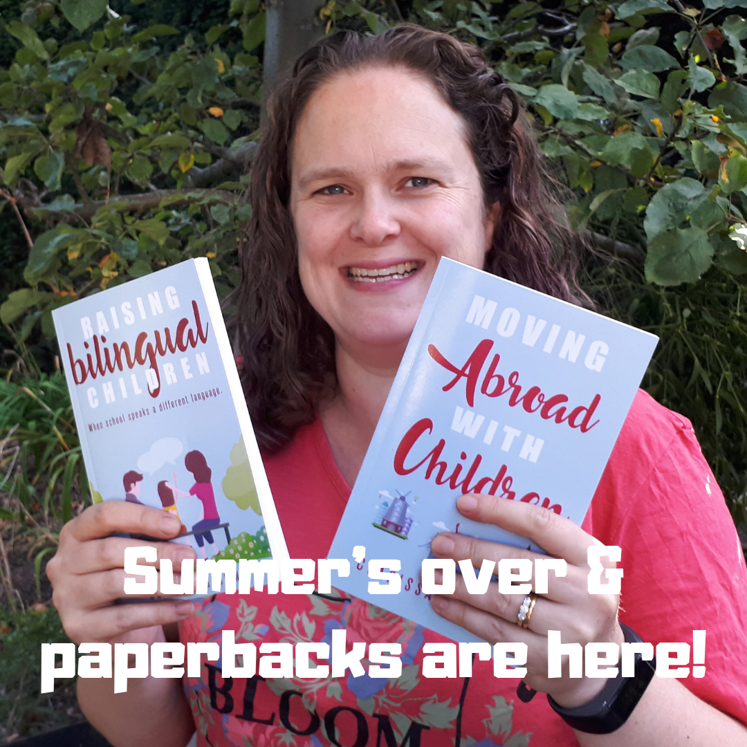 Summer's over & paperbacks are here!